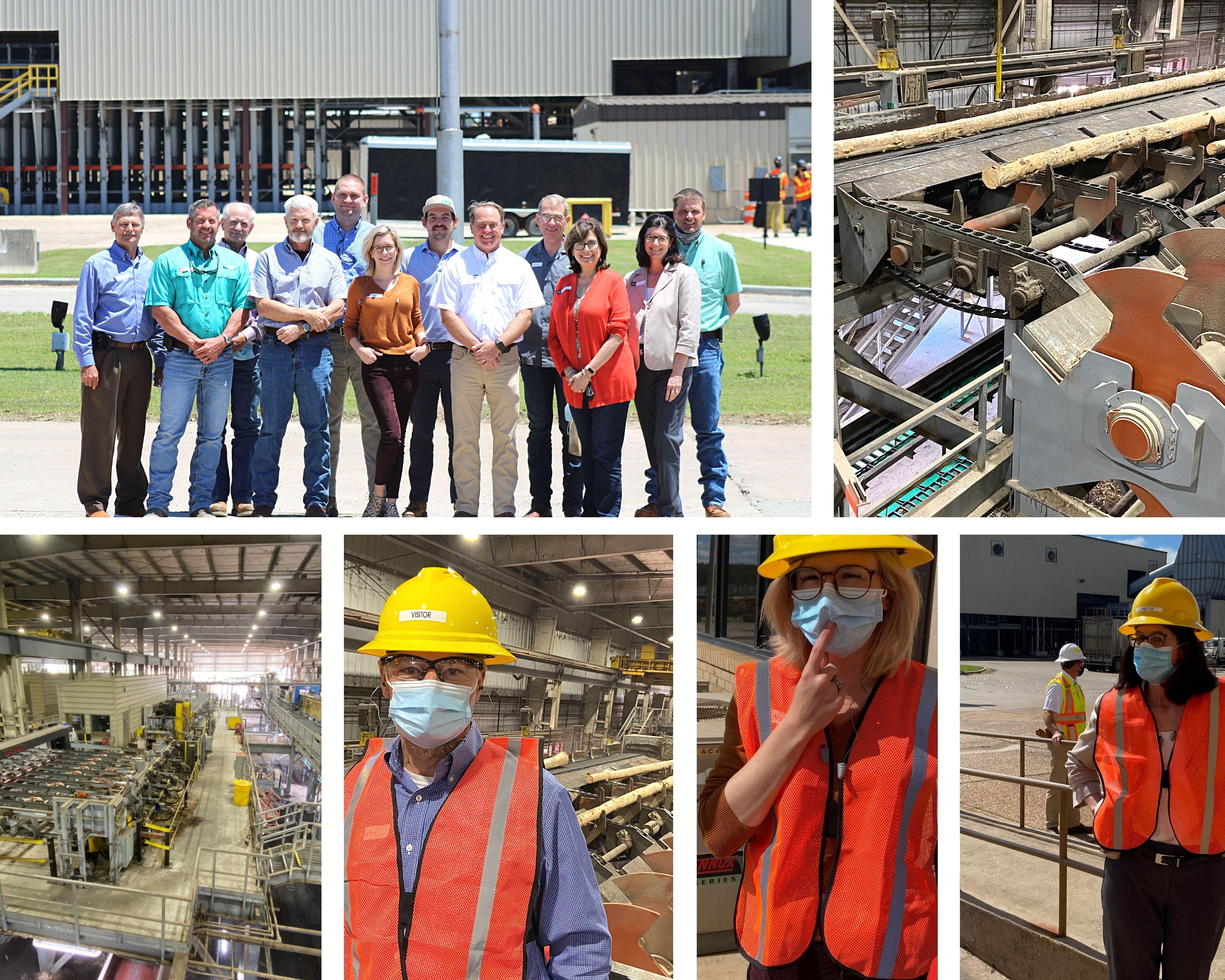 Workforce Solutions Deep East Texas Site Visit to Angelina Forest Products