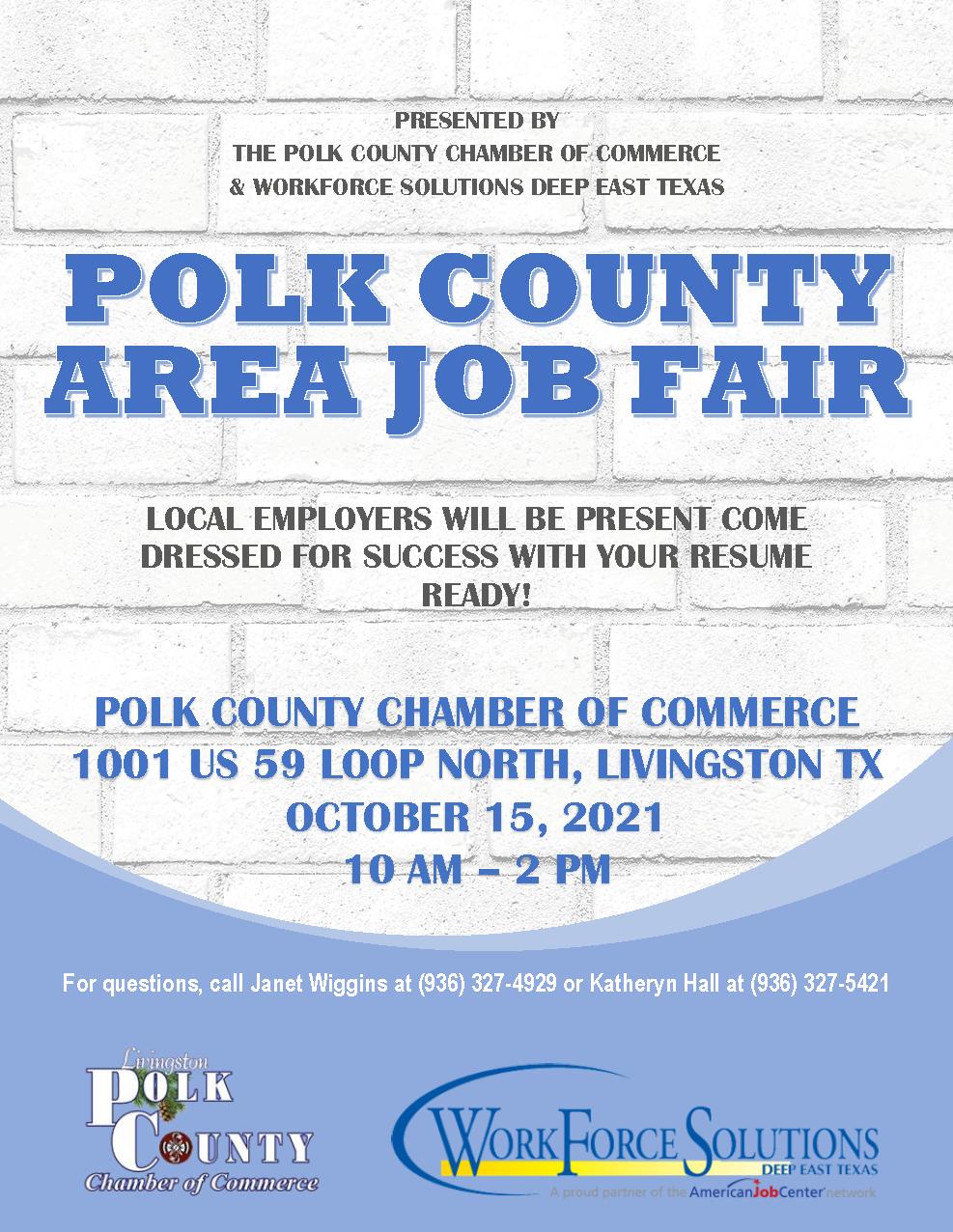 Polk County Area Job Fair