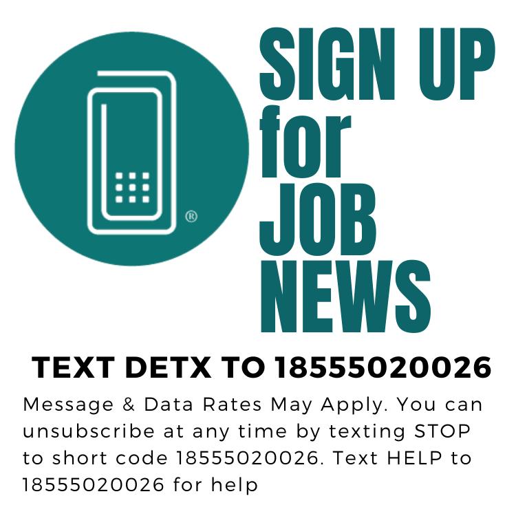 Sign up for Job News
